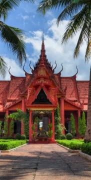 Świątynia w Laos