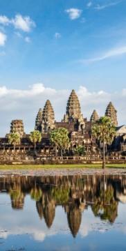 Zabytki Kambodży
